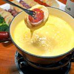 Swiss Cheese Fondue & Cheddar Cheese Fondue Recipes