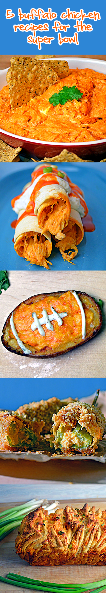 5 Buffalo Chicken Recipes