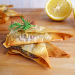 Spanakopita (Spinach and Feta Phyllo) Triangles