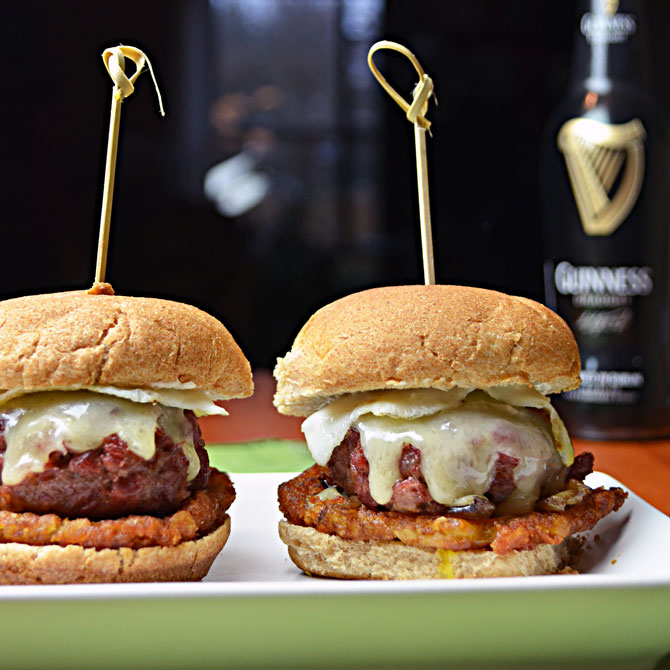 Corned Beef Hash Sliders