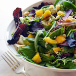 Mango and Blue Cheese Salad