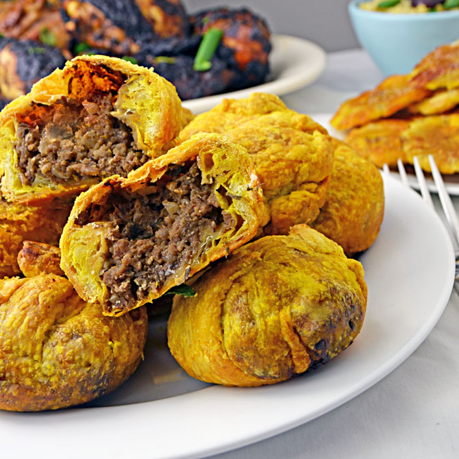 Bite Jamaican Beef Patties - Host The Toast