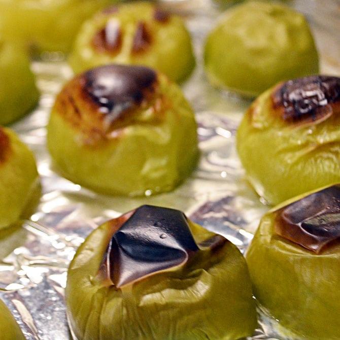 Tomatillos for Salsa Verde