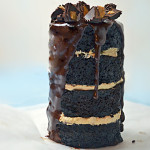 Dark Chocolate Peanut Butter Can Cake