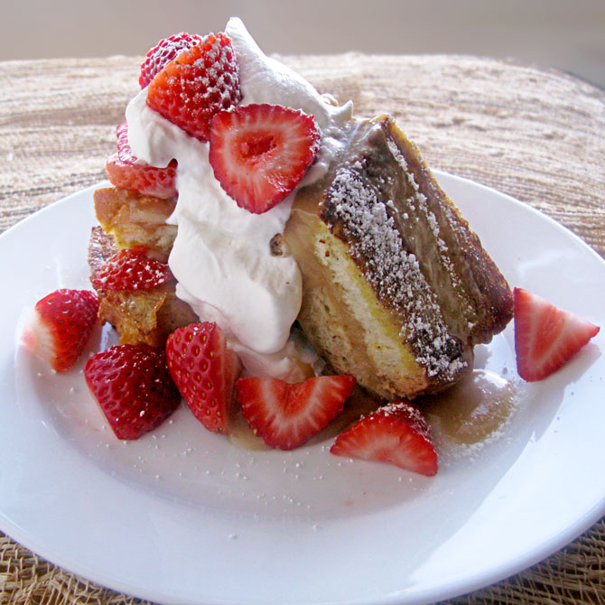 Brown Sugar Caramel French Toast
