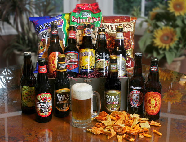 Looking for a great Father's Day gift for a craft beer fanatic?  This Brewery Gift Basket is just his style.  Featuring 6 microbrews from all over the US and plenty of bar bites, he'll enjoy a sip and a snack while he cheers on his favorite sports team or settles in on the couch for a Star Wars movie marathon (it is Father's Day, after all).  Get this great gift basket here for $39.95.