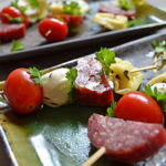 Marinated Antipasto Skewers