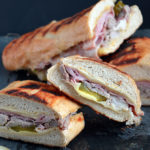 Crock Pot, Pork, Swiss, Ham, Pickle, Sandwich, Party, Easy