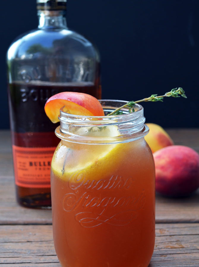 Bourbon Peach Sweet Tea