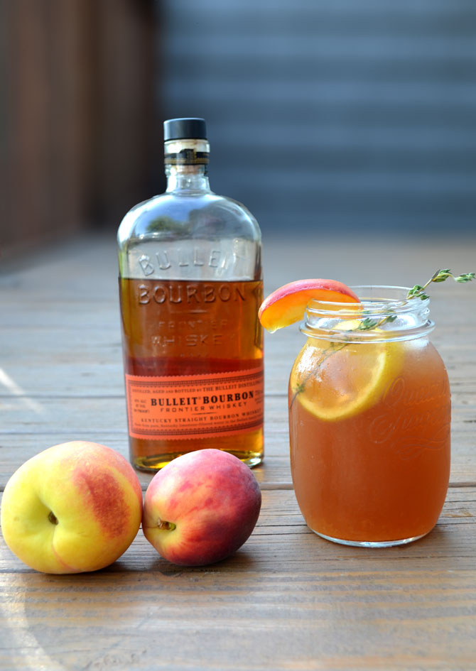 bourbon peach sweet tea host the toast