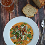 Buffalo Chicken Corn Chowder