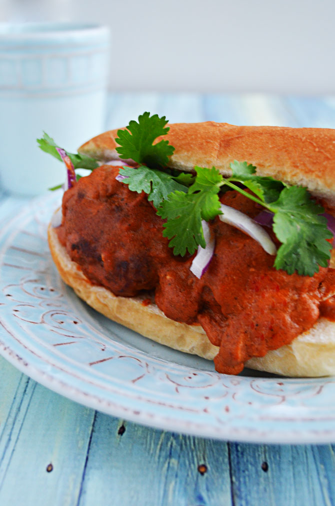 Crock Pot Chicken Tikka Masala Meatballs