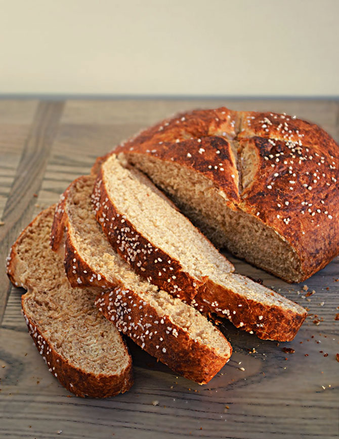 Make Pretzel Bread At Home And Your Sandwiches Will Never Be The Same I