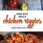One Pot Spicy Chicken Riggies
