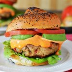Spicy Tuna Roll Burger