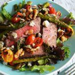 Warm Balsamic Steak and Vegetable Medley