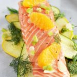 Summer Citrus Salmon en Papillote (in Paper)