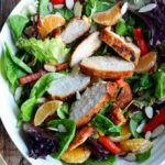 Cumin Honey Citrus Chicken Salad