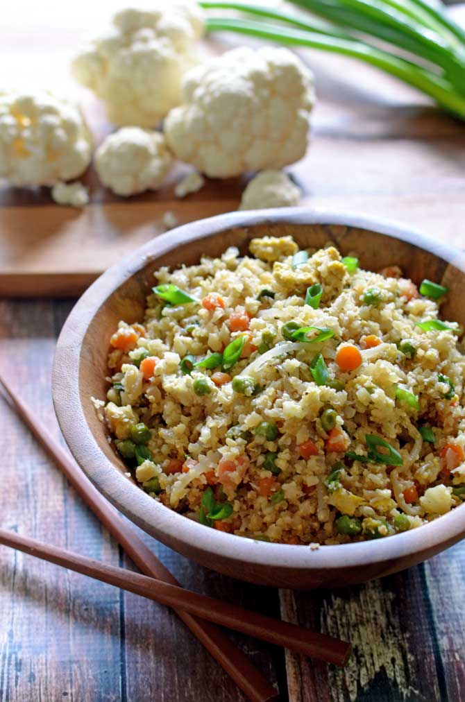 Cauliflower fried rice host the toast cauliflower fried rice healthy low carb and seriously tasty ccuart Images