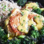 Sizzling Broccoli, Cheddar, and Chicken Skillet