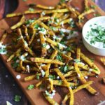 Spicy Baked Jicama Fries