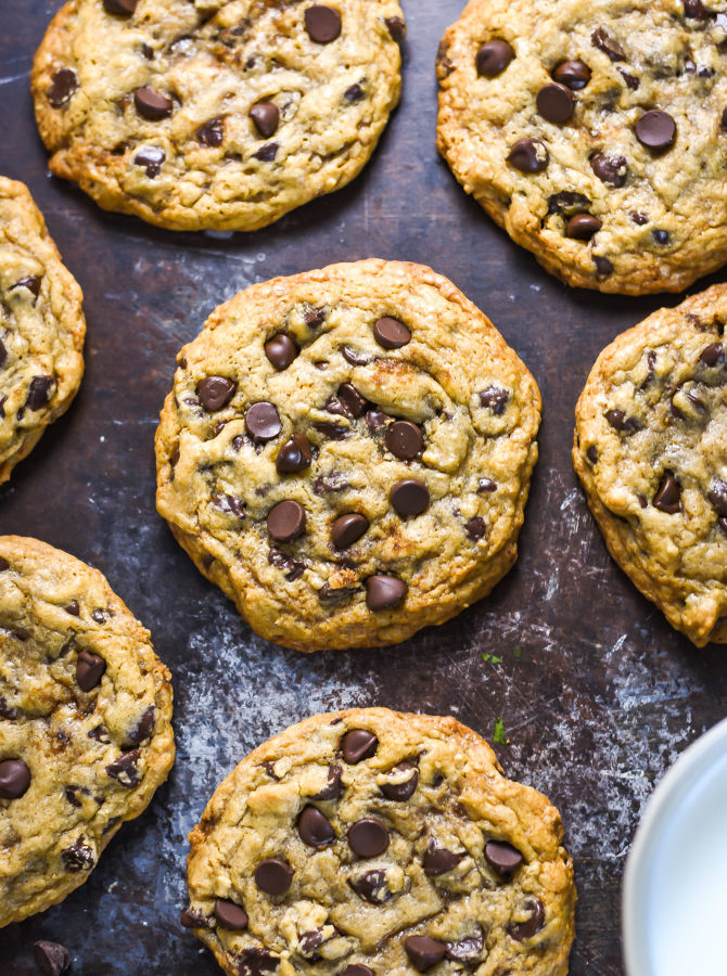 The Best Chewy Café-Style Chocolate Chip Cookies