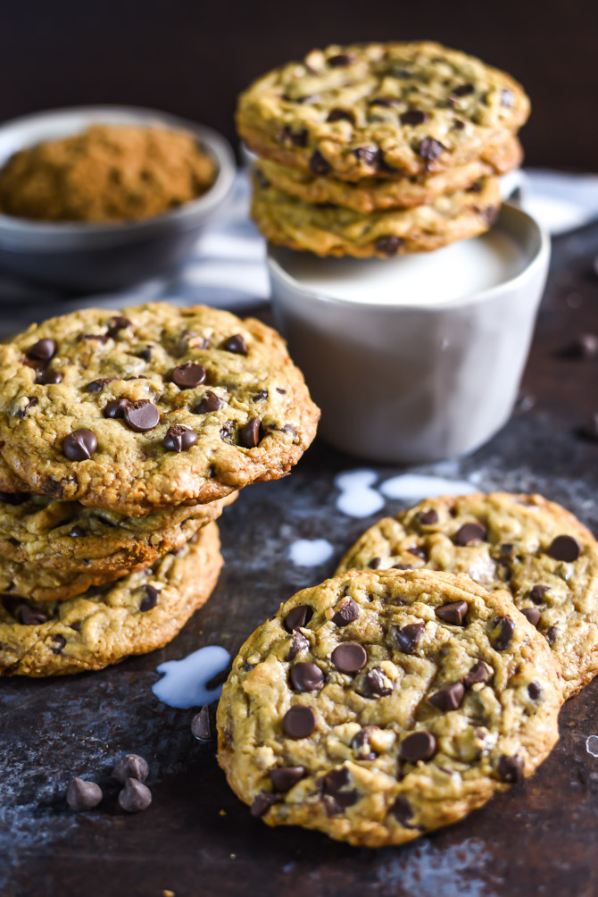 The Best Chewy Café-Style Chocolate Chip Cookies. These are my MOST POPULAR recipe of all time. They're so soft and chewy-- definitely the best chocolate chip cookie I've ever had! | hostthetoast.com