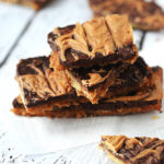 5 Ingredient Sweet & Saltine Peanut Butter Brittle