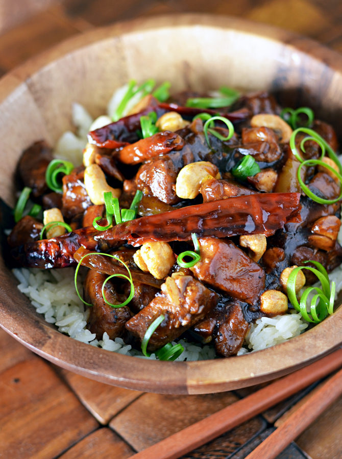 Crock Pot Kung Pao Chicken