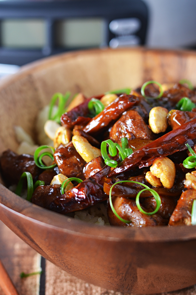 Crock Pot Kung Pao ChickenHost The Toast