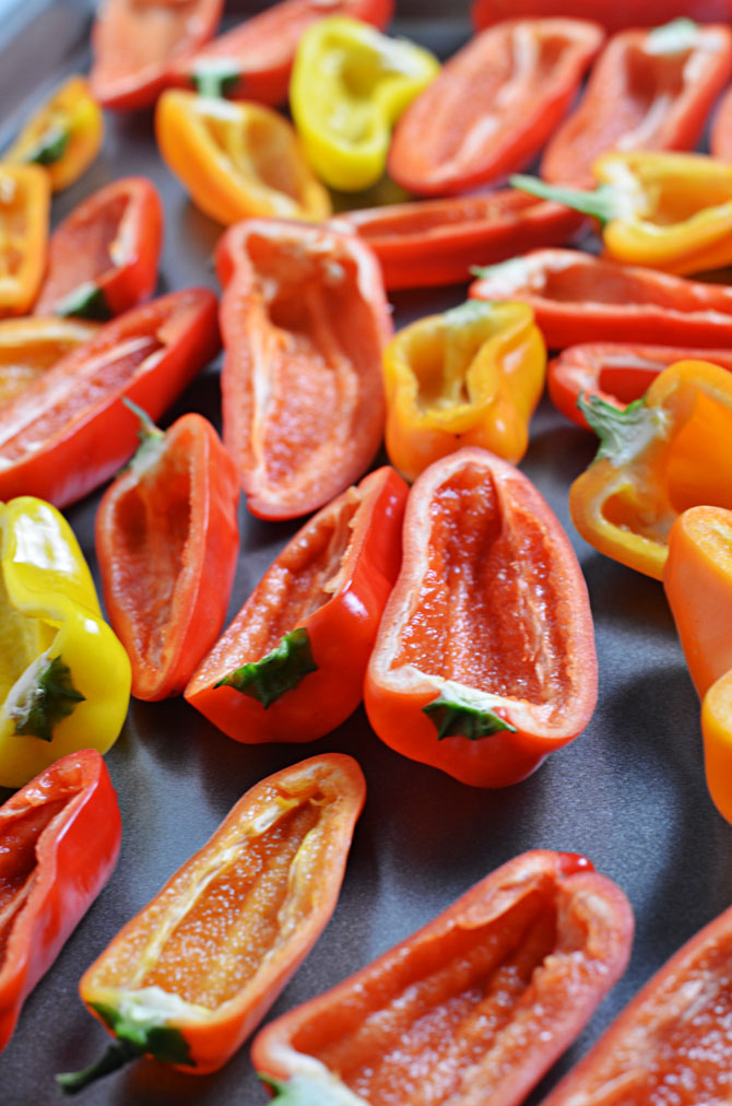Italian Stuffed Sweet Pepper Poppers