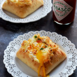 Spicy Egg Clouds in Ciabatta Boats
