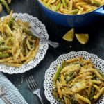 Lemony Brown Butter Asparagus Penne
