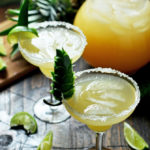 Caramelized Pineapple and Jalapeño Margaritas