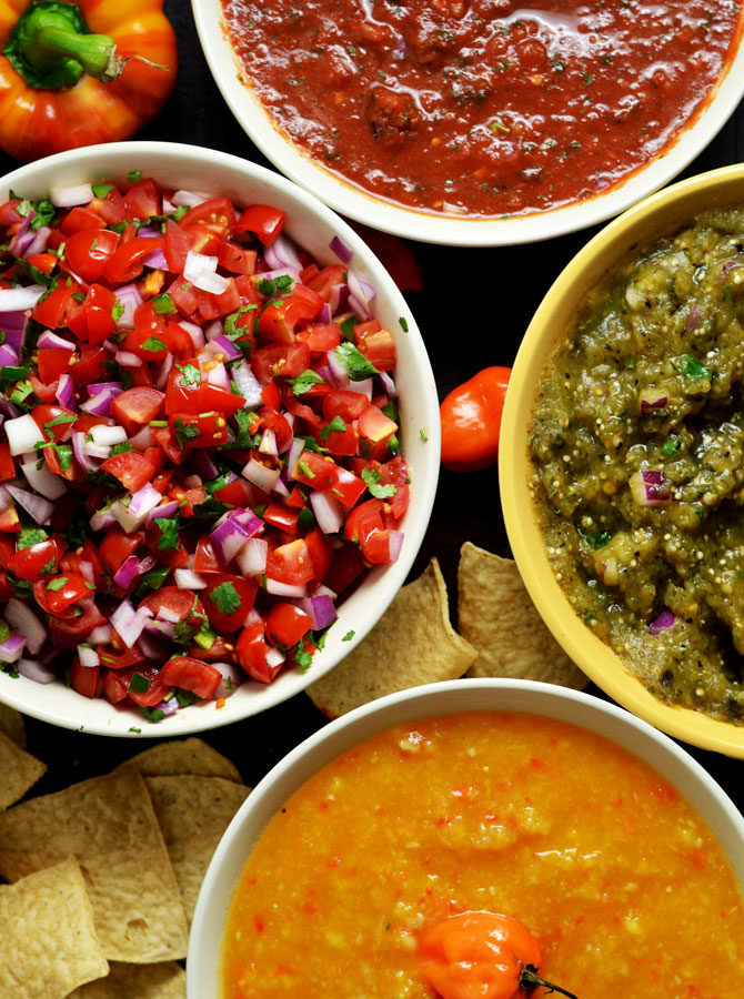 4 Must-Make Salsas
