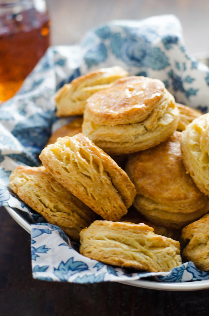 Ultra Flaky Buttermilk Biscuits. These golden, flaky, layer-packed biscuits are a must for breakfast, lunch, and dinner. Plus you can make them ahead and freeze before baking so you can have beautiful biscuits any time you crave them. | hostthetoast.com