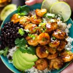 20 Minute Sweet & Sticky Caribbean Shrimp