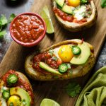 30 Minute Huevos Rancheros Potato Boats