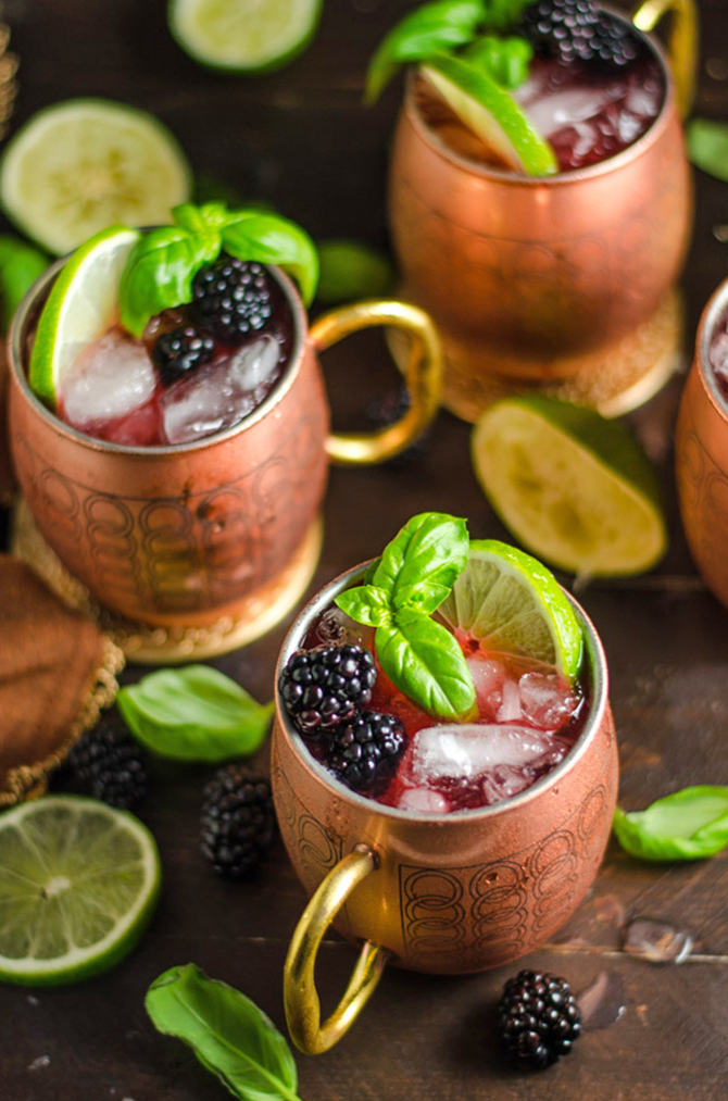 blackberry basil moscow mules host the toast. Black Bedroom Furniture Sets. Home Design Ideas