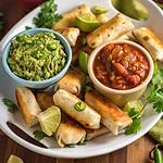 Green Chile Chicken Quesadilla Sticks