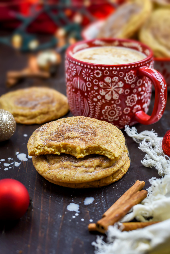 Chewy Chai Snickerdoodles. These tender, chewy cookies are rolled in sugar, cinnamon, cardamom, cloves, ginger, and allspice to taste like your favorite tea! | hostthetoast.com