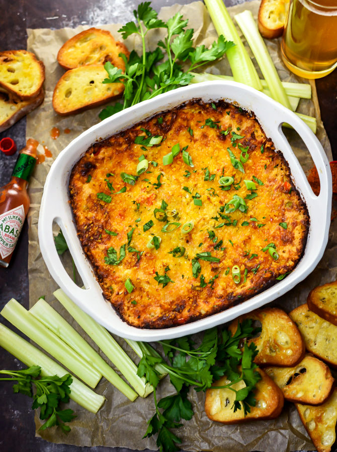 Hot Cajun Crab Dip