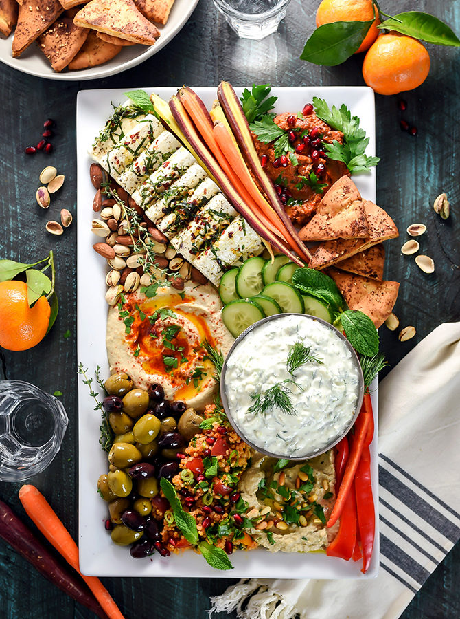 Mezze Party Platter