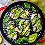 Grilled Avocado Balsamic Chicken