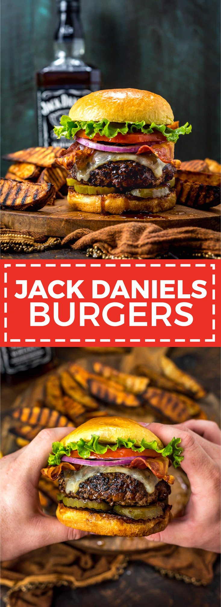 Jack Daniels Burgers. These juicy, glazed cheeseburgers taste just like the ones at TGI Friday's. The sweet, sticky glaze (and a few tips) will take your typical backyard burgers to the next level. | hostthetoast.com