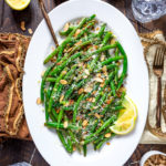 Browned Butter Lemon-Garlic Green Beans
