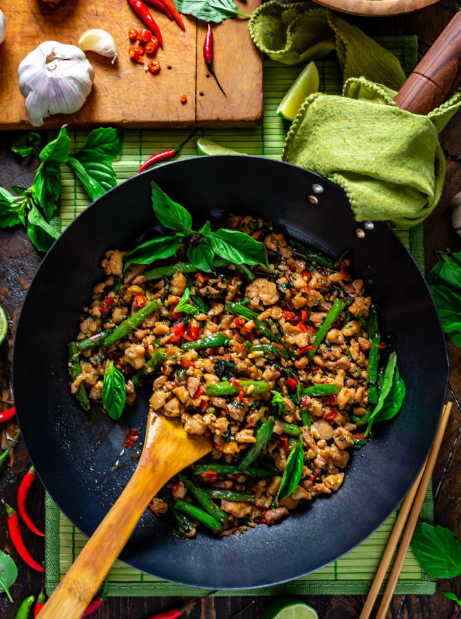 15 Minute Thai Basil Chicken