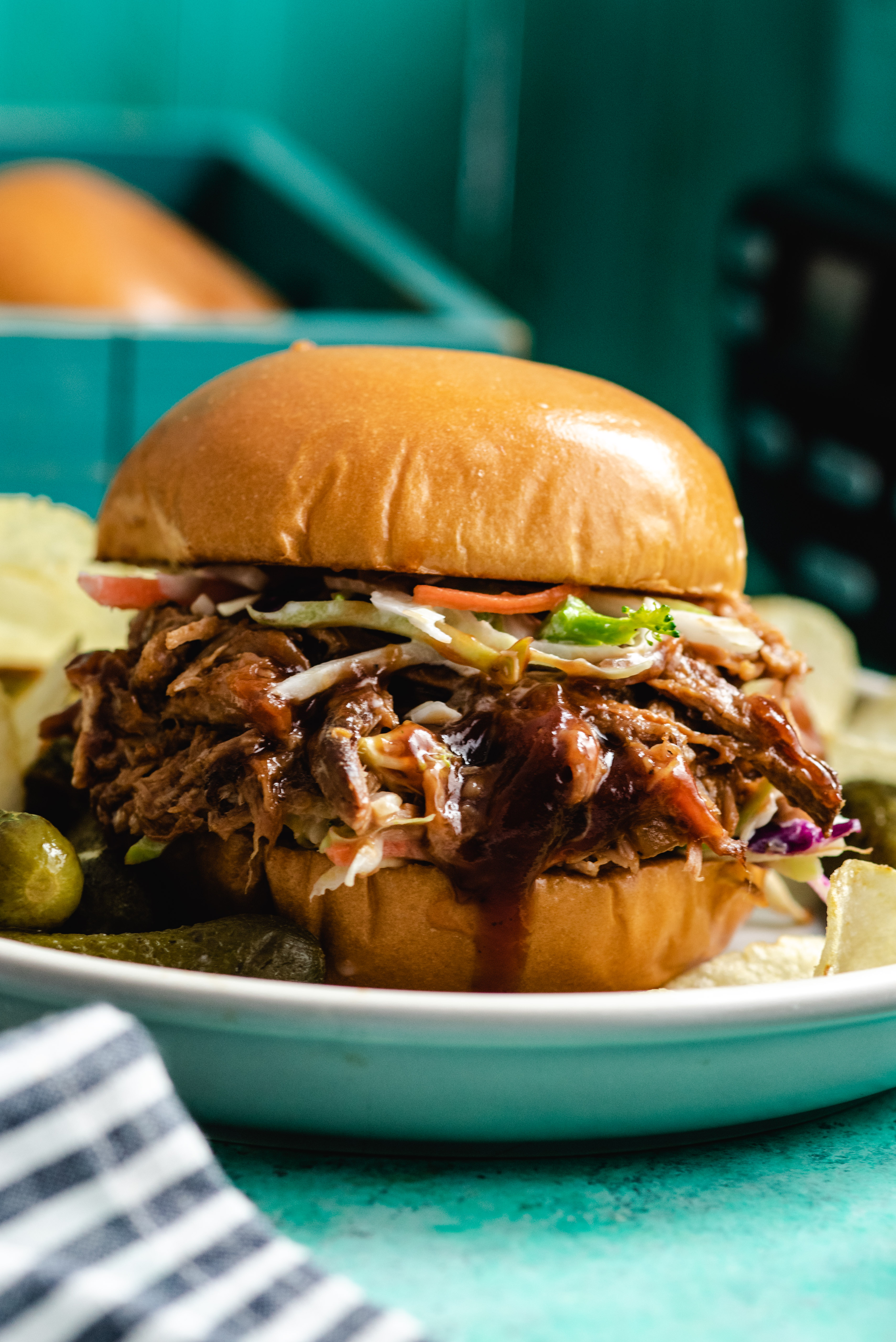 Slow Cooker Bbq Pulled Pork Host The Toast