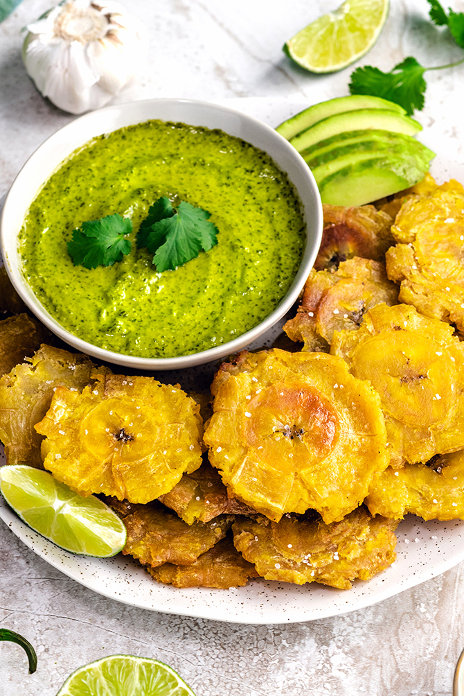 Tostones Fried Green Plantains Host The Toast