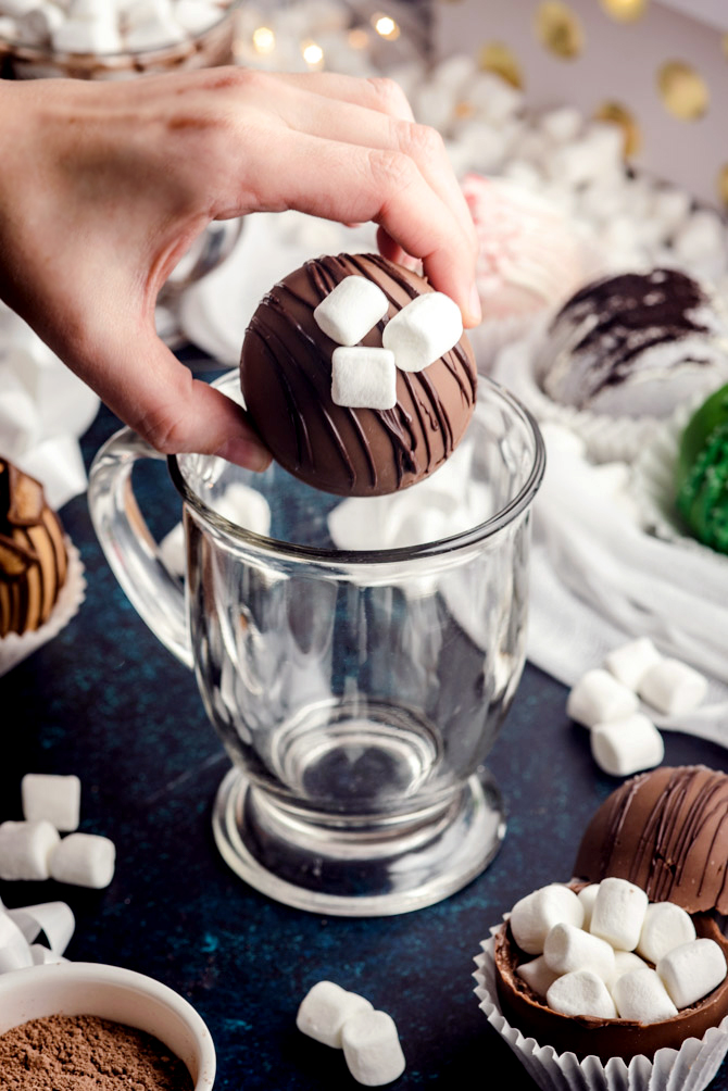 Hot Cocoa Bombs Host The Toast